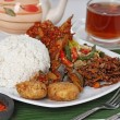 Indonesian food — Stock Photo