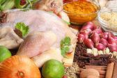 Chicken raw — Stock Photo