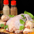 Chicken raw — Stock Photo