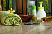 Bali and Indonesian spa — Stock Photo
