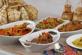 Indoneian 食品 ketupat lebaran — 图库照片