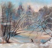 Winter fairy tale — Stock Photo