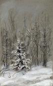 Peles-árvore pequena — Foto Stock