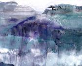 глубокое озеро — Стоковое фото