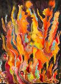 Geister des feuers — Stockfoto
