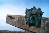 Denkmal auf der kleinen Erde — Stockfoto