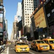 Yellow cabs on Times Square — Stock Photo #18951269