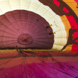 Air balloon closeup, South Africa — Stock Photo