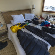 Hotel Room in Punta Arenas, Chile — Stock Photo