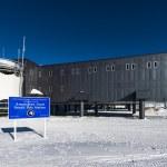 US Amundsen Scott South Pole Station — Stock Photo