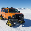 ALE snowmobile at the South Pole, Antarctica — Stock Photo