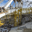 Stock Photo: Construction of Olympic Venue in Sochi Olympic Park, Russia