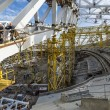 Construction of Olympic Venue in the Sochi Olympic Park, Russia — Stock Photo #18004005
