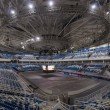 Interiors of the newly constructed Ice Hockey Arena in the Sochi Olympic Park, Russia — Stock Photo