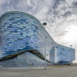 Stock Photo: Facade of Ice RInk in Sochi Olympic Park