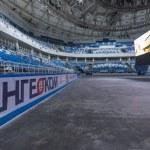 Inside Newly Constructed Ice Hockey Arena, Olympic Park, Sochi, Russia — Stock Photo