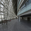 Interiors of the newly constructed Ice Arena in the Sochi Olympic Park, Russia — Foto Stock