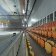 Interiors of the newly constructed curling arena in the Sochi Olympic Park, Russia — Foto Stock