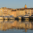 图库照片: View of Saint-Tropez