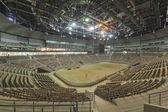 Interiors of the newly constructed Ice Arena in the Sochi Olympic Park, Russia — Stock Photo