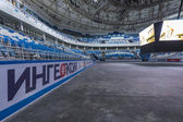 Inside Newly Constructed Ice Hockey Arena, Olympic Park, Sochi, Russia — Stock Photo