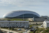 Ice palace in the Sochi Olympic Park, Russia — Stock Photo