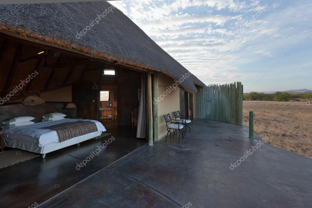 Room with amazing view of the desert, Namibia — Stock Photo #18037865