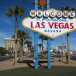 Stock Photo: Welcome to Las Vegas sign