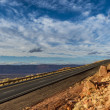 Stock Photo: Lonely Highway, Arizona, USA