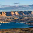 Beautiful lake Powell, Arizona — Stock Photo