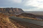 Yalnız otoban arizona, abd — Stok fotoğraf