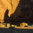 Native americans village in the Monument Valley, Utah, USA — Stock Photo