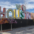 We love Houston composition, Texas, USA - Stock Photo