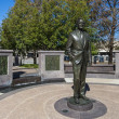 il monumento a george bush, il 41 ° Presidente degli usa, houston, usa — Foto Stock