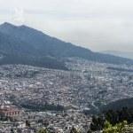 Panoramic view of Quito in Ecuador — Stock Photo #25263673