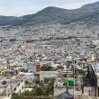 Panoramic view of Quito in Ecuador — Stock Photo