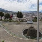 Panoramic view of Quito in Ecuador — Stock Photo #25263963