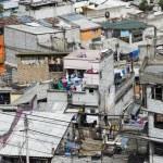 Panoramic view of Quito in Ecuador — Stock Photo #25264133