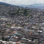 Panoramic view of Quito in Ecuador — Stock Photo #25264165
