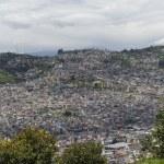 Panoramic view of Quito in Ecuador — Stock Photo #25264723