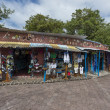 Souvenir and clothes shop on Galapagos islands — Stock Photo