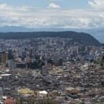Panoramic view of Quito in Ecuador — Stock Photo #25265399