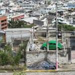 Panoramic view of Quito in Ecuador — Stock Photo #25265469
