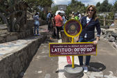 In the Equator Park, Quito, Ecuador — Stock Photo