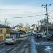 Irkutsk streets, Russia — Stock Photo