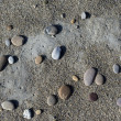 Baikal pebbles — Stock Photo