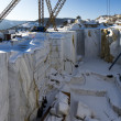Stock Photo: Buguldeikmarble quarry near Baikal lake