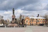 Monument to Emperor Alexander III in Irkutsk Russia — Stock Photo