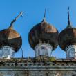Dilapidated orthodox church in Nizhny Novgorod region, Russia — Stock Photo #26944553