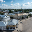 Panoramic view of Kostroma town, Russia — Stock Photo